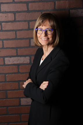 Elizabeth Keating standing